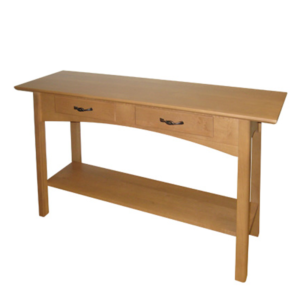 Mill Creek Sofa Table With 2 Drawers And Shelf