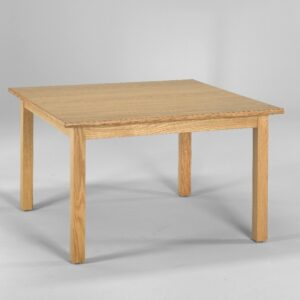Straight Apron Table With Four Legs