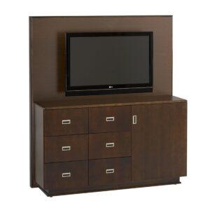 Custom 207 Series Media Unit With Drawer Storage