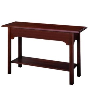 Chippendale: Sofa Table With Shelf