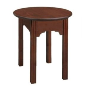 Chippendale: Round End Table