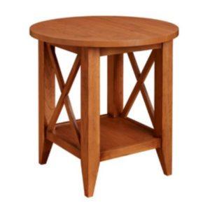 Monterey: Round End Table