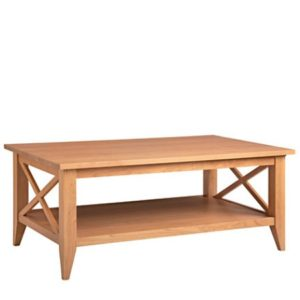 Monterey: Rectangular Coffee Table With Shelf