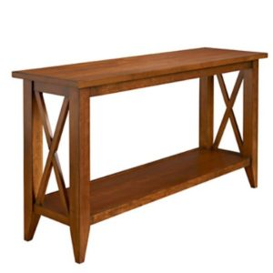 Monterey: Sofa Table With Shelf