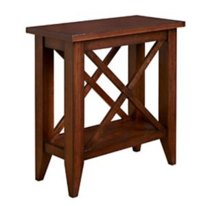 Monterey: Chairside Table With Shelf