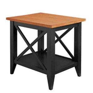 Monterey: Rectangular End Table With Shelf