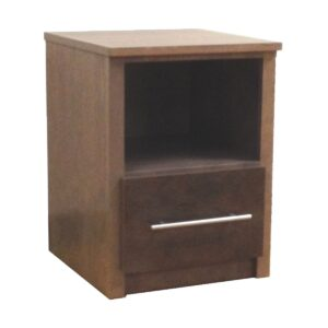 Custom 561 Nightstand With Open Compartment & One Drawer