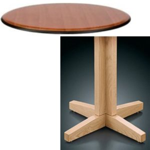 8000 Series Pedestal Base Table