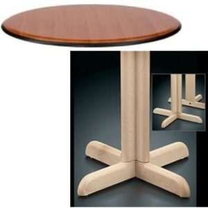 8100 Series Pedestal Base Table