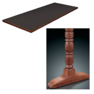 8200 Series Double Pedestal Table