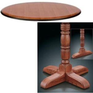 8200 Series Pedestal Base Table
