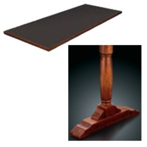 8300 Series Double Pedestal Table