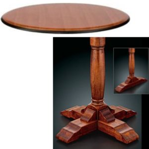 8300 Series Pedestal Base Table