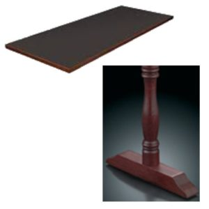 8400 Series Double Pedestal Table