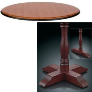 8400 Series Pedestal Base Table