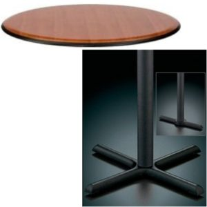 9000 Series Pedestal Base Table