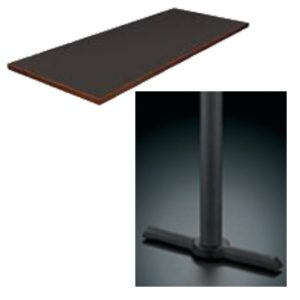 9000 Series Double Pedestal Table