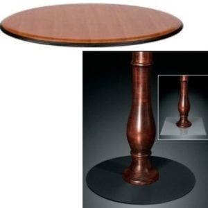 9951 Series Pedestal Base Table