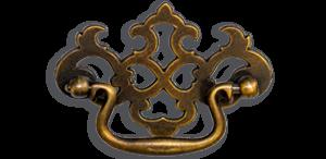 Antique Brass Handle #14