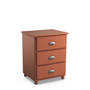Aspen: Three Drawer Nightstand