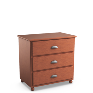 Aspen: Three Drawer Chest