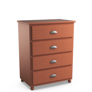Aspen: Four Drawer Chest