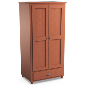Aspen: Double Wardrobe With One Drawer