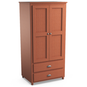 Aspen: Double Wardrobe With Two Drawers