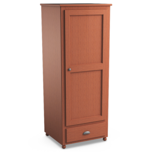 Aspen: Single Wardrobe With One Drawer
