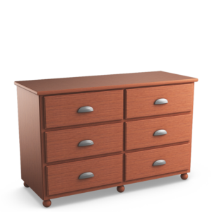 Aspen: Six Drawer Dresser