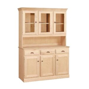 Custom Buffet Shown With Optional Hutch Top