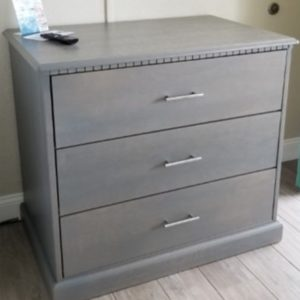 Custom 495 Three Drawer Chest