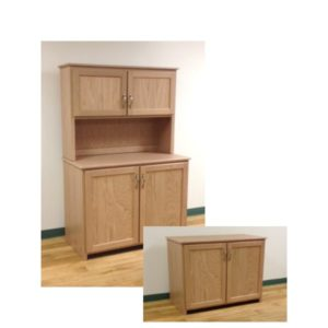 Custom Buffet With Option Hutch Top