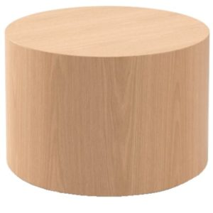 CYLINDER OCCASIONAL TABLE – NO BASE