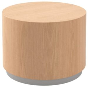CYLINDER OCCASIONAL TABLE – WITH BASE