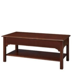 Chippendale: Rectangular Coffee Table With Shelf