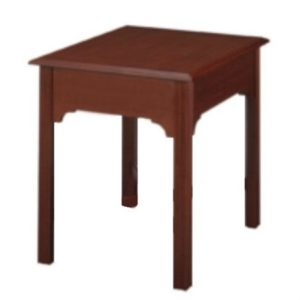Chippendale: Rectangular End Table