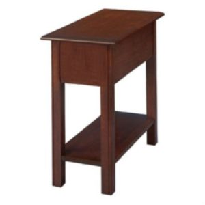 Chippendale: Chairside Table With Shelf