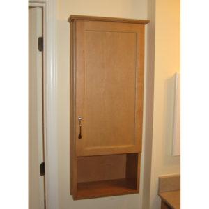 Custom Bathroom Wall Cabinet