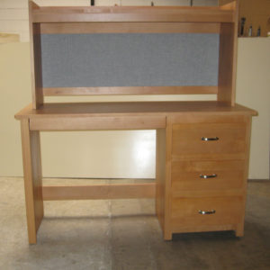 Custom Desk/Nightstand Combo With Hutch Top