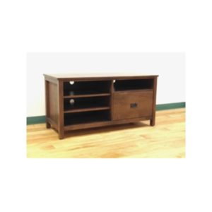 Custom Media Unit With Storage