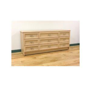 Custom Nine Drawer Dresser
