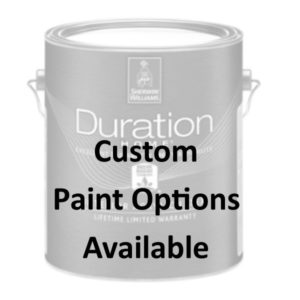 Custom Paint Options Available