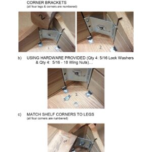 End Table With Shelf Assembly Instructions Page 0002