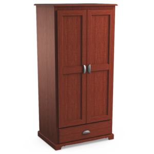 Georgetown: Double Wardrobe With One Drawer