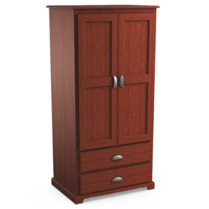 Georgetown: Double Wardrobe With Two Drawers