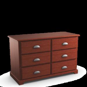 Georgetown: Six Drawer Dresser