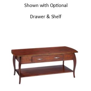 Harlo: Rectangular Coffee Table