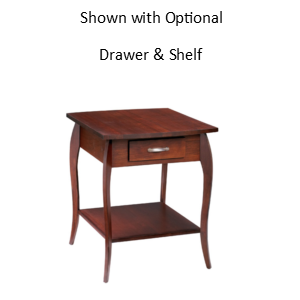 Harlo: Rectangular End Table
