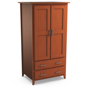 Kingston: Double Wardrobe With Two Drawers